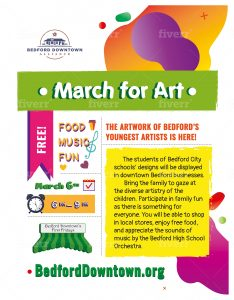 Bedford's First Friday: March for Arts
