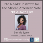 The NAACP Platform for the African American Vote - CANCELLED