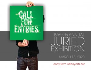 Call for Artists - BAYarts Juried Exhibition