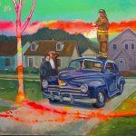 """BAYarts presents David King """"Time Travel"""""""