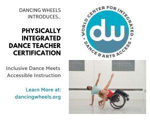 Physically Integrated Dance Teacher Certification ...