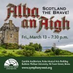 Alba An Aigh: Scotland the Brave! - Cancelled