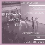 Cleveland Dance Fest 2020 Application