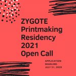 Zygote Printmaking Residency Open Call