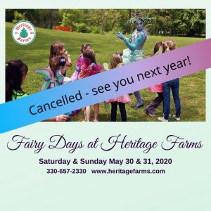Fairy Days at Heritage Farms Peninsula has been ca...