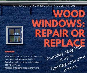 Wood Windows: Repair or Replace Presentation