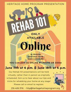 Rehab 101 Presentation