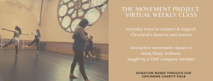 The Movement Project Virtual Weekly Class