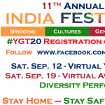 11th Annual Virtual India Festival USA