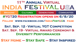 11th Annual Virtual India Festival USA