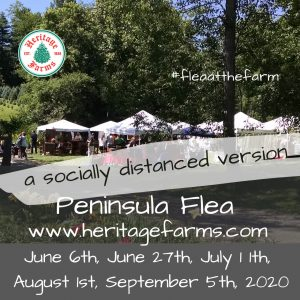 Peninsula Flea at Heritage Farms– social distanc...