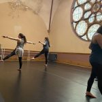 Weekly Modern/Contemporary Company Class for professional dancers with The Movement Project