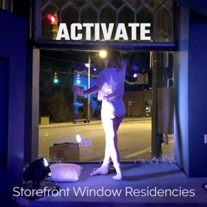 ACTIVATE : Storefront Window Residencies at Maelst...