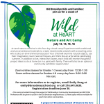 Wild at HeART Nature and Art Camp