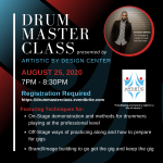 Drum Master Class with Jonathan Winfree