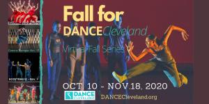 Fall for DANCECleveland- Virtual Fall Dance Series