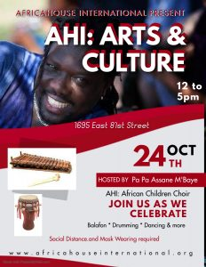 AfricaHouse International Present: AHI: Arts &...