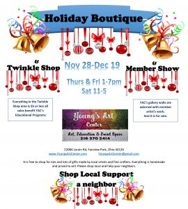 Holiday Boutique & Member Show