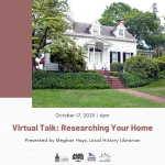 Virtual Talk: Researching Your Home