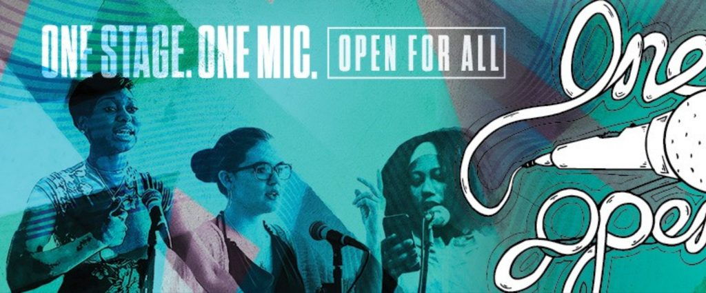 The One Mic Open Poetry Series