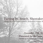 Tuning In: Beach, Shostakovich, and Charnofsky