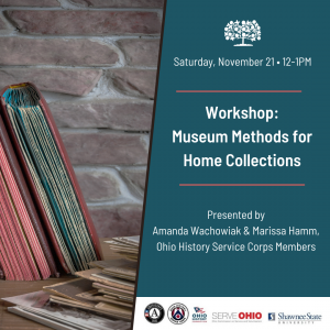 Virtual Workshop: Museum Methods for Home Collections
