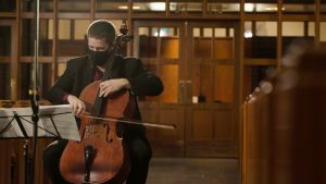 Thankfulness in Solitude: Solo Cello Concert