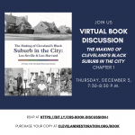 Virtual Book Discussion: Chapter 1 of The Making of Cleveland's Black Suburb in the City