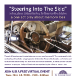 """Theatre in the Circle presents """"Steering Into The Skid"""", an interactive experience"""