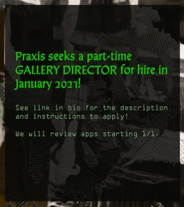 Praxis Fiber Workshop Seeks a Part-time Gallery Director