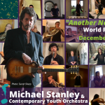 "World premiere - Contemporary Youth Orchestra & Michael Stanley release ""Another New Year's Eve"""