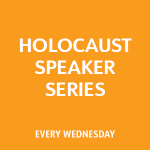 Holocaust Speaker Series: Erika Gold
