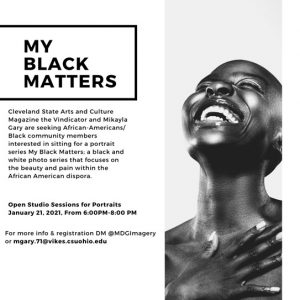 My Black Matters- Call for Models