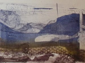 Printmaking without a Press: Monoprinting with Gelatin Plates
