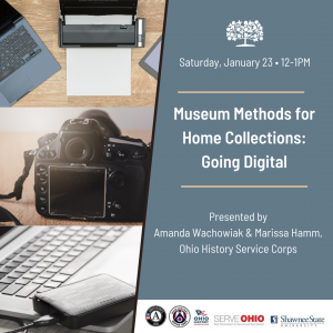 Museum Methods for Home Collections: Going Digital