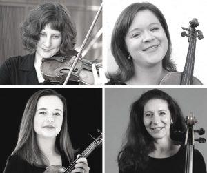Tuning In: Athena String Quartet