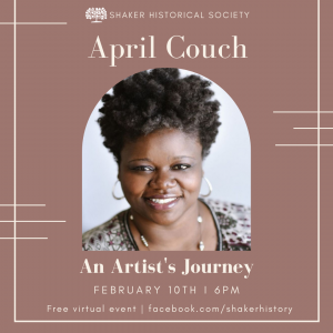 Virtual Talk: April Couch : It's never too late to do what you were born to do, an artist's journey