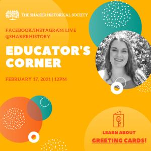 Educator's Corner: Greeting Cards