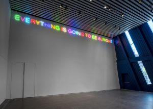 Exhibition: Martin Creed: Work No. 3398 EVERYTHING IS GOING TO BE ALRIGHT