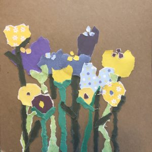 Free Online Art Class for Seniors- Collage