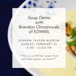Soup Demo with Brandon Chrostowski
