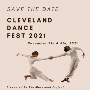 Cleveland Dance Fest 2021 - Save the Date