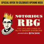 Opening Week Special: Notorious RBG: The Life and Times of Ruth Bader Ginsburg
