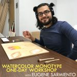 Watercolor Monotype One-Day Virtual Workshop