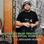 Multiblock Relief Printing Virtual Workshop