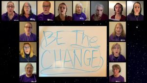 "World-Premiere Video Production of ""Be The Change""..."