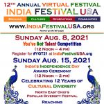 12th Annual Virtual India Festival USA