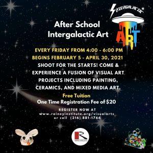 After School - Intergalactic Art