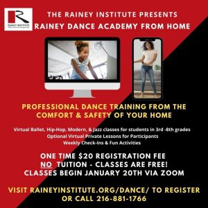 Rainey Dance Academy From Home