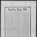 """""""Seeking Freedom,"""" Sara Lucy Bagby, Judge Daniel Tilden and the Fugitive Slave Law"""